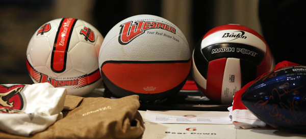 Photo of U of W volleyball
